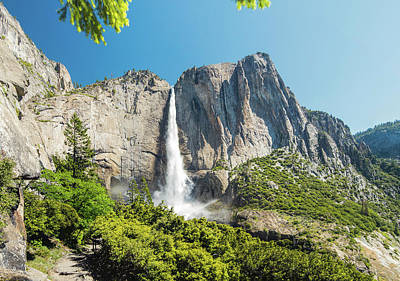 Photograph - Upper Yosemite Falls by Steven Barrows
