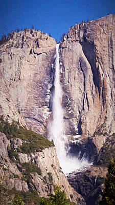 Photograph - Upper Yosemite Falls by Susan Rissi Tregoning