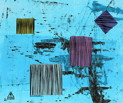 Painting - Uprice 1209 by Mr Caution
