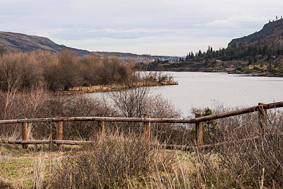 Photograph - Upriver From Mayer Park by Tom Cochran