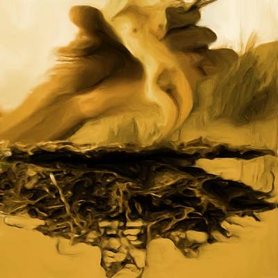 Painting - Uprooted Life by Shelley Bain