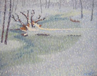 Painting - Upset by Len Stomski