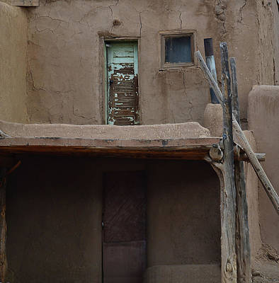 Photograph - Upstairs Downstairs Pueblo by Nadalyn Larsen