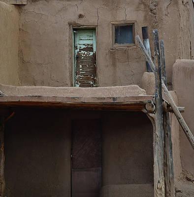 Photograph - Upstairs Downstairs Pueblo by Nadalyn Larsen