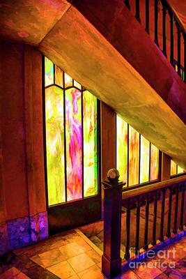 Photograph - Upstairs Downstairs by Rick Bragan