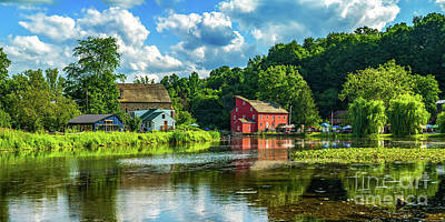 Photograph - Upstream From The Red Mill by Nick Zelinsky