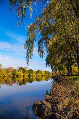 Housatonic River Photograph - Upstream View by Karol Livote