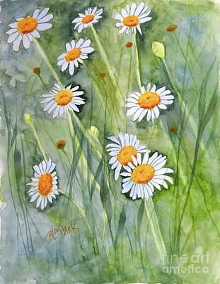 Painting - Upsy Daisy  by Barrie Stark
