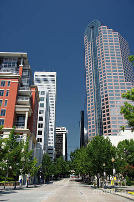 Photograph - Uptown Charlotte by Jill Lang