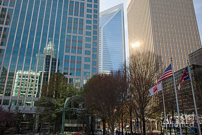 Photograph - Uptown Charlotte, North Carolina by Kevin McCarthy