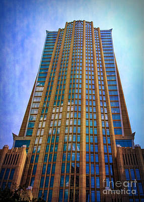 Photograph - The Hearst Tower by Sue Melvin