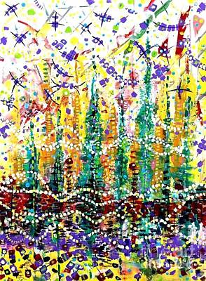 Painting - Uptown Funk by Jacqui Hawk