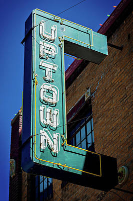 Photograph - Uptown Marquee by Bud Simpson