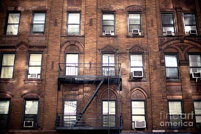 Photograph - Uptown Window View by John Rizzuto