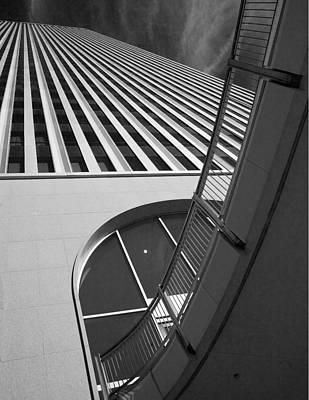 Tulsa Oklahoma. Architecture Photograph - Upward And Outward by William Oswald