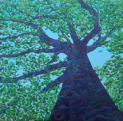 Upward Treejectory Art Print