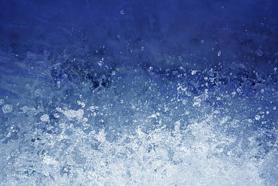 Photograph - Upwardly Mobile - Blue by Richard Andrews