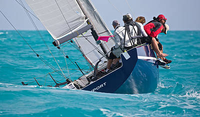 Photograph - Upwind At Key West by Steven Lapkin