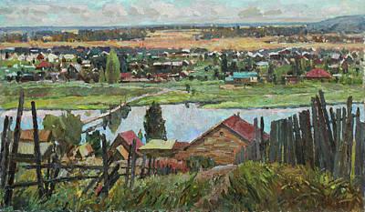 Painting - Ural Expanses by Juliya Zhukova