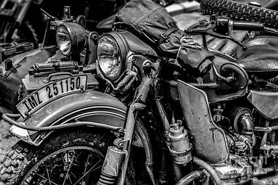 Photograph - Ural Patrol Bike by Anthony Citro