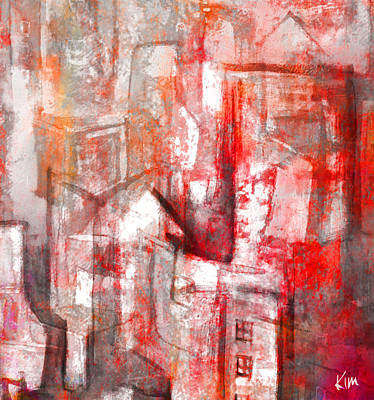 Mixed Media - Urban #10 by Kim Gauge