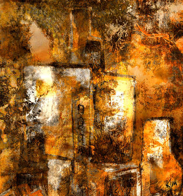 Mixed Media - Urban #3 by Kim Gauge