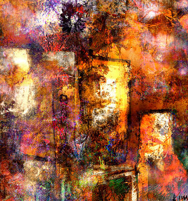 Mixed Media - Urban #4 by Kim Gauge