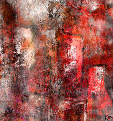 Mixed Media - Urban #5 by Kim Gauge