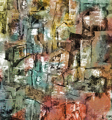 Mixed Media - Urban #6 by Kim Gauge