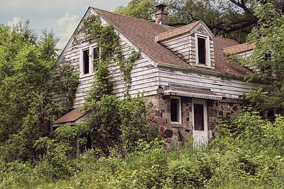 Abandoned Homes Photograph - Urban Abandonment 2 by Kim Hojnacki
