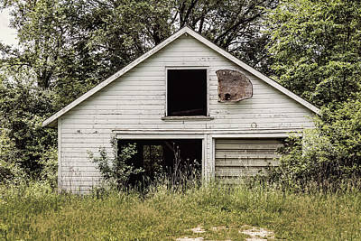 Rural Decay Photograph - Urban Abandonment 3 by Kim Hojnacki