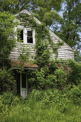Rural Decay Photograph - Urban Abandonment by Kim Hojnacki