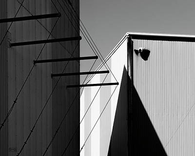 Photograph - Urban Abstract Bw by David Gordon