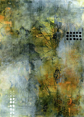 Painting - Urban Abstract Warm And Grey by Patricia Lintner