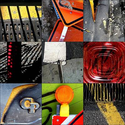 Photograph - Urban Abstracts Angles by Marlene Burns