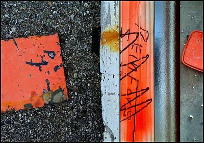 Photograph - Urban Abstracts Compilations 2 by Marlene Burns