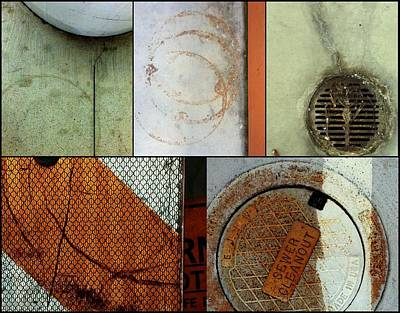 Photograph - Urban Abstracts Compilations 3 by Marlene Burns