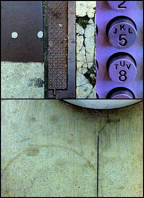 Photograph - Urban Abstracts Compilations 9 by Marlene Burns