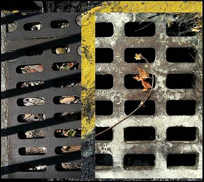 Photograph - Urban Abstracts Seeing Double 12 by Marlene Burns