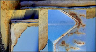 Photograph - Urban Abstracts Seeing Double 61 by Marlene Burns