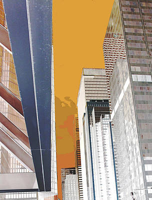 Digital Art - Urban Angles by Ian  MacDonald