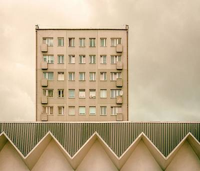 Urban Architectur Art Print by Klaus Lenzen