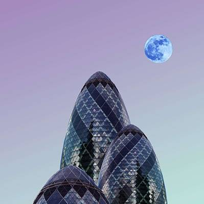 Abstract Skyline Rights Managed Images - Urban Architecture - London, United Kingdom 8s Royalty-Free Image by Celestial Images