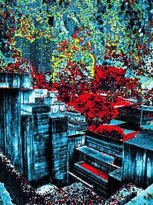 Freeway Digital Art - Urban Autumn by Tim Allen