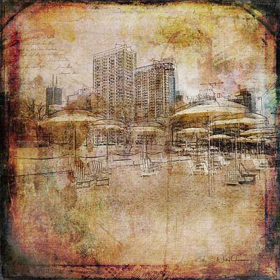 Digital Art - Urban Beach II by Nicky Jameson