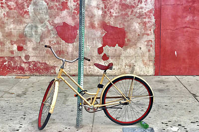 Photograph - Urban Bike by Art Block Collections