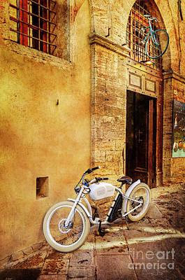 Photograph - Urban Bikery Bicycle  by Craig J Satterlee