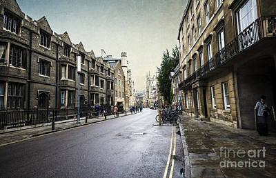 Busy Life Digital Art - Urban Cambridge  by Svetlana Sewell