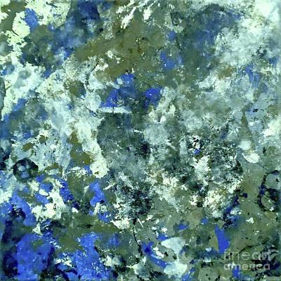 Depression Painting - Urban Camouflage by Jilian Cramb - AMothersFineArt