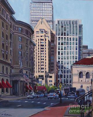 Urban Canyon - Saint James Street, Boston Original by Deb Putnam
